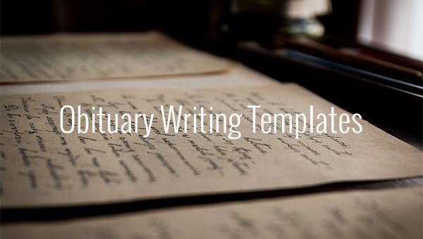 obituarywritingtemplates