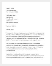 one week notice letter sample template