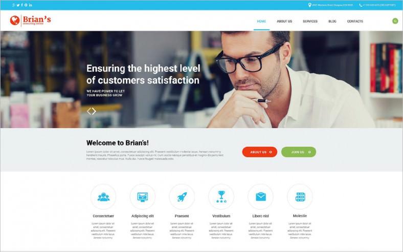 15+ Consulting Joomla Website Templates & Themes | Free & Premium ...