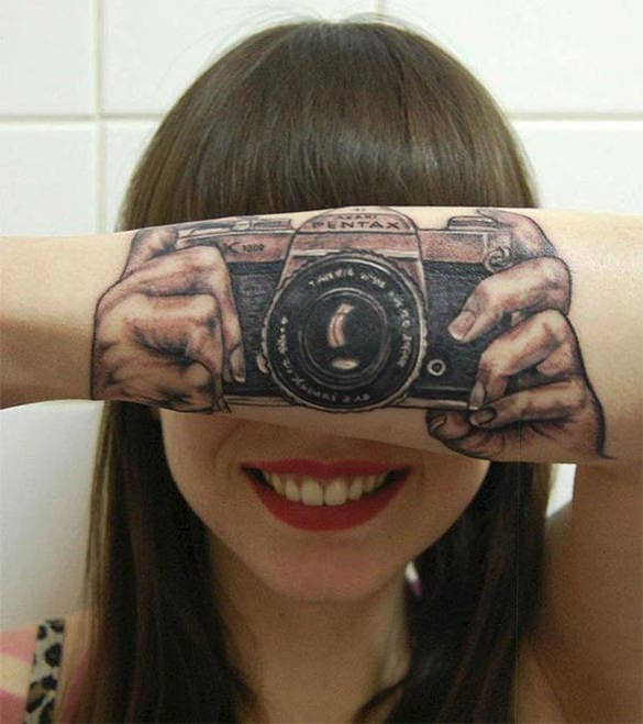 outstanding 3d tattoo design