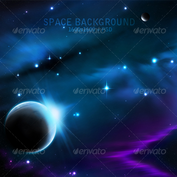 outstanding premium space background