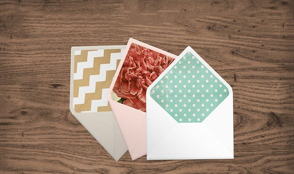 psd envelope liner template download1