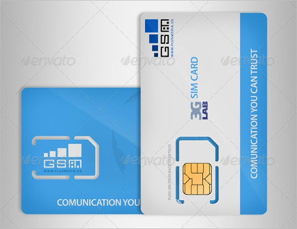 psd micro sim card mockup
