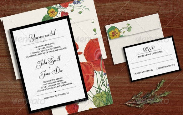 Wedding Card Envelope Template – 17+ Free Printable, Sample