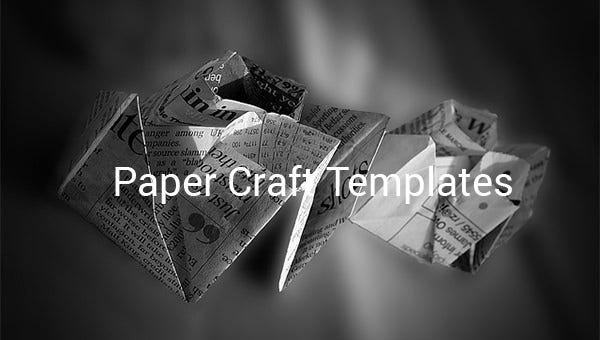 paper craft templates