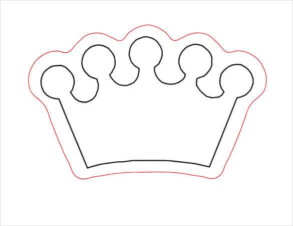 paper-crown-outline-download