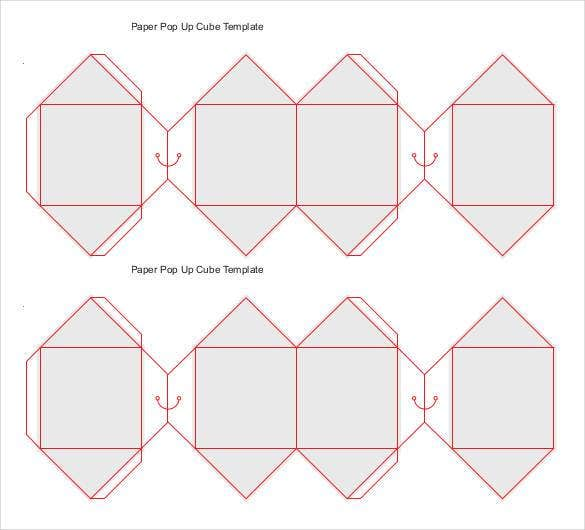 Paper Cube Template - 18+ Free Word, PDF Documents | Free ...