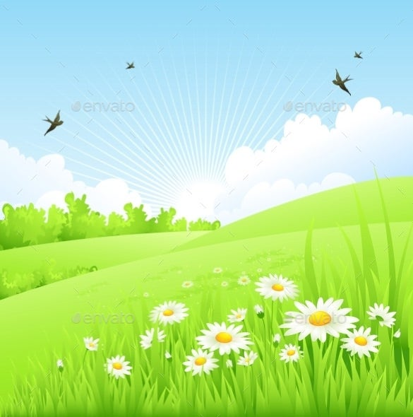 perfect spring background premium download