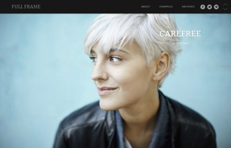 Perfect WordPress Theme for Images Showcasing