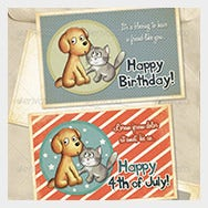 Pets-Birthday-Photo-Thank-You-Photo-Card