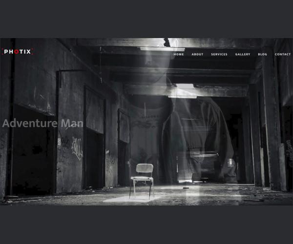 Photix Photography Website Template