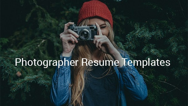 photographerresumetemplates