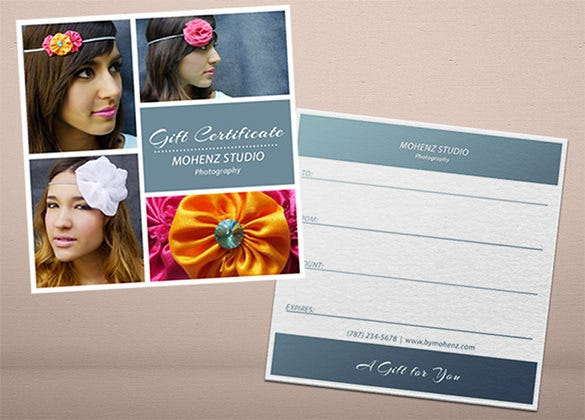 photography gift certificate voucher 7