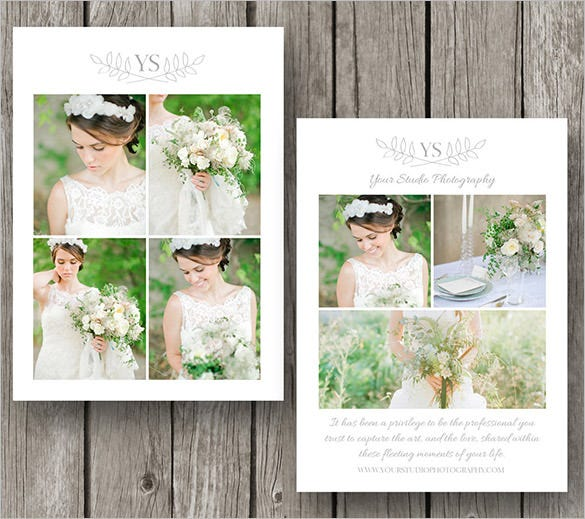 photography thank you card for wedding