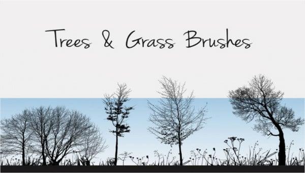 photoshopgrassbrushes