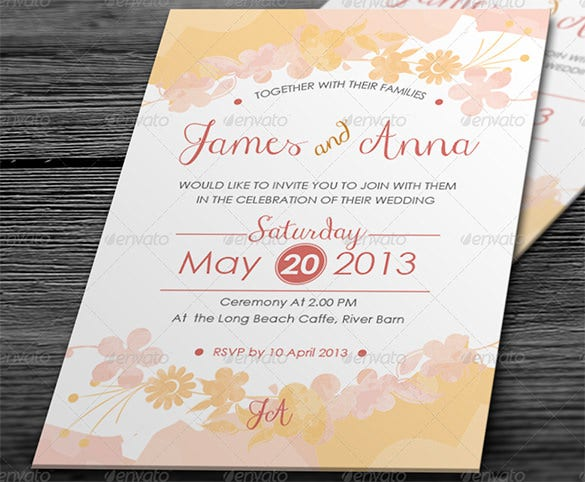 Wedding Card Envelope Template 17 Free Printable Sample Example