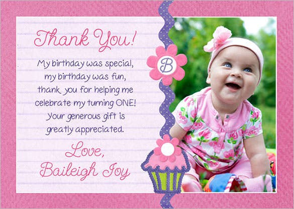 105 Thank You Cards Free Printable PSD EPS Word PDF – Thank You for the Birthday Card