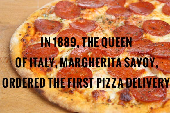 pizza delivery fact