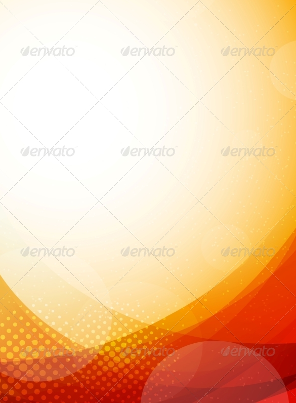 premium bright orange background