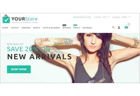 premium design zencart theme