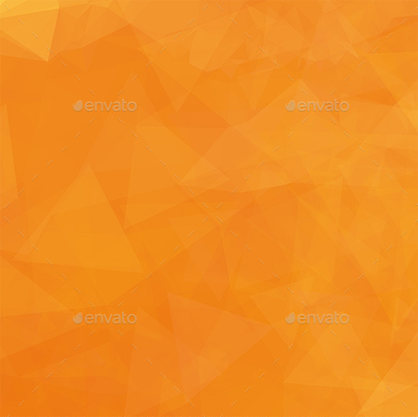 premium polygon orange background
