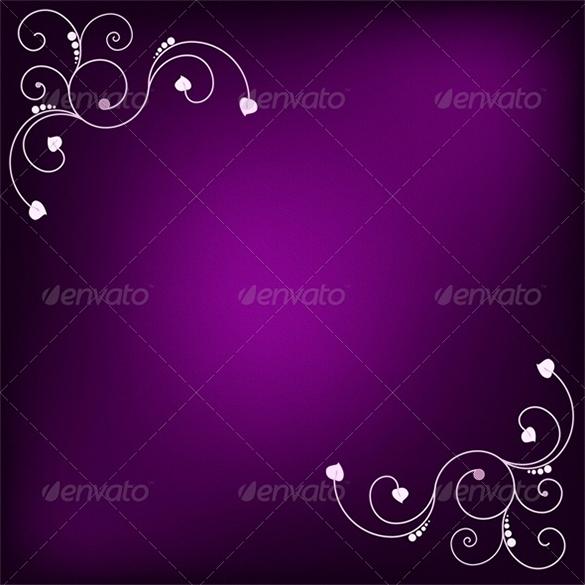 premium purple background with design