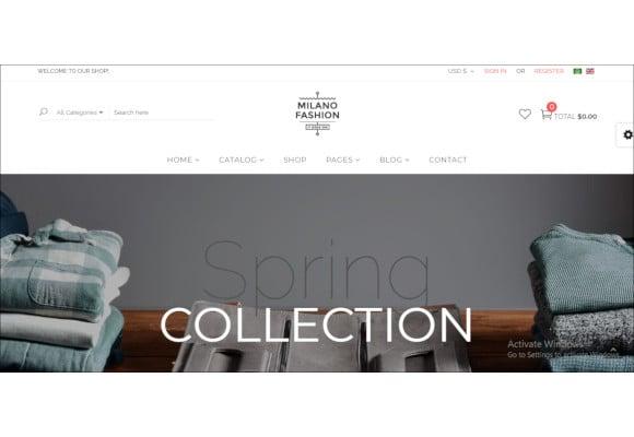 premium responsive virtuemart theme for fashion store1