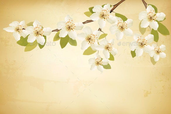 premium vector spring background for you