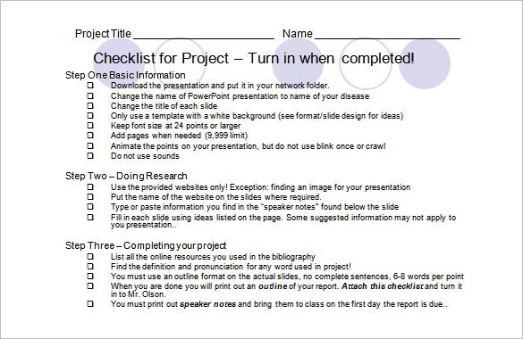 Presentation Outline Template – 8+ Free Sample, Example, Format ...