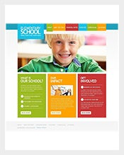 Primary-School-Facebook-Flash-CMS-Template