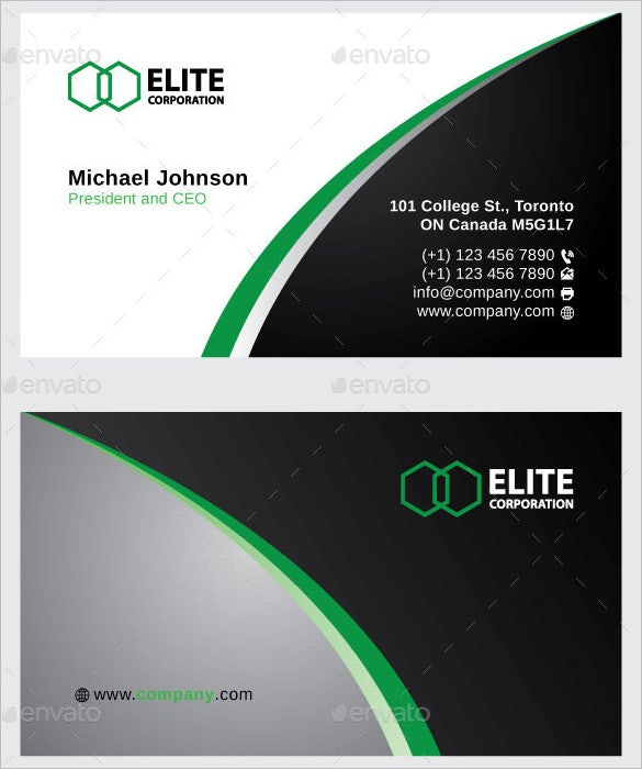 Name Card Template 16 Free Sample Example Format Download – Name Card Example