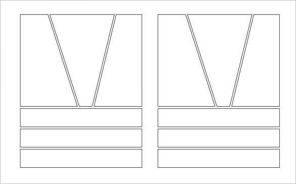 printable big top action comic storyboard template