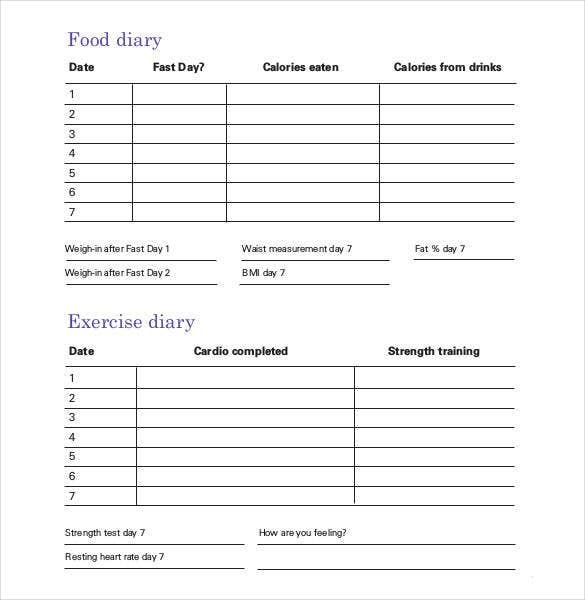 printable day by day planner template