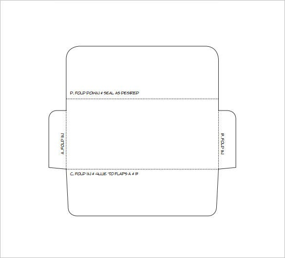 printable free money envelop template