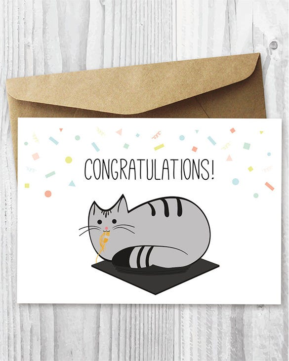 printable graduation congratulations card 3