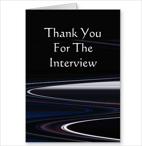8  interview thank you cards  u2013 free printable psd  eps format download