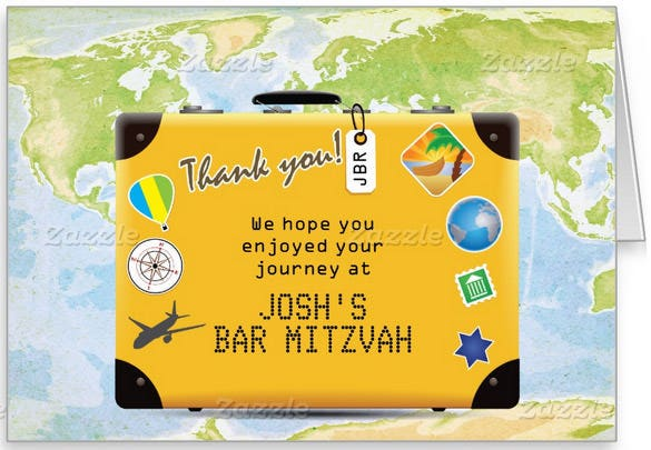 printable world travel thank you card template