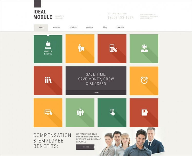Professional Consulting Agencies Joomla Template