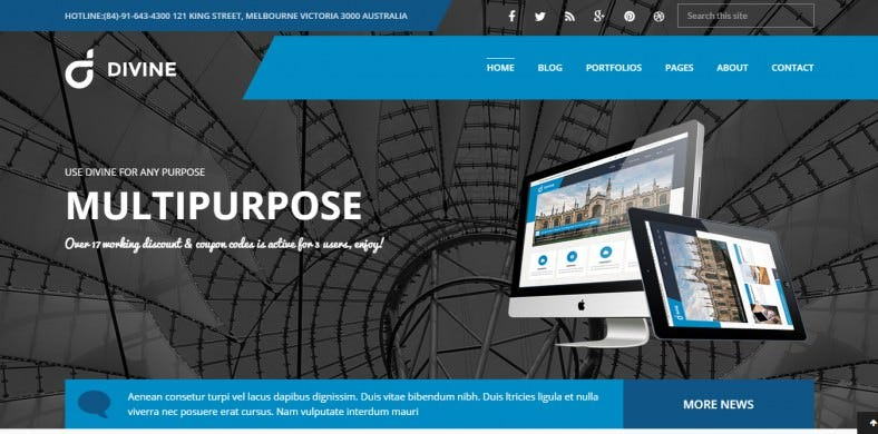 Professional Multi-Purpose Business Drupal ThemeS