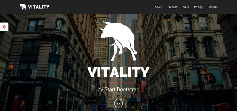 Professional & Responsive OnePage Bootstrap Landing Page Template