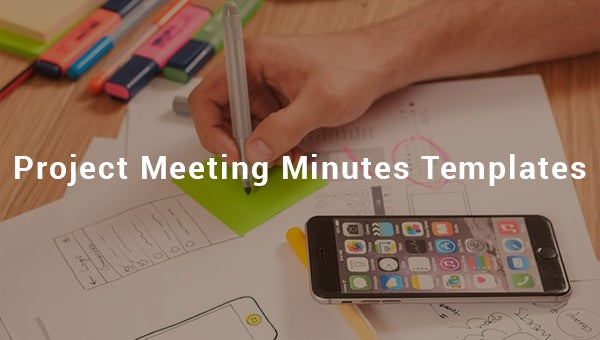project meeting minutes template1