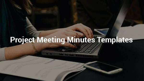 project meeting minutes templates