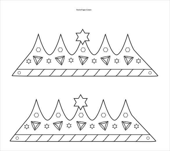 purim-paper-crown