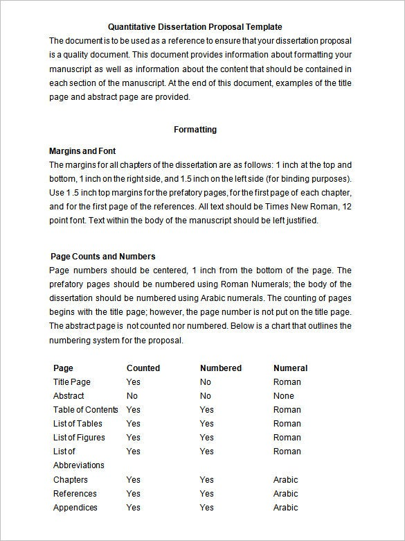 Dissertation sample pdf