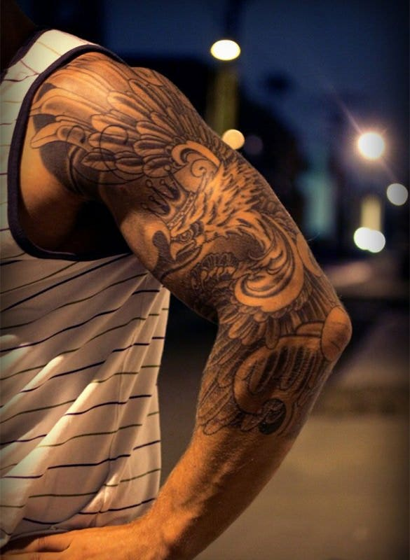 quarter sleeve tattoo for men1