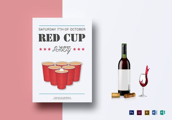 Red Flyer Templates  Free Psd Eps Ai Indesign Word Pdf