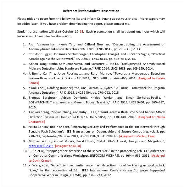 reference-list-for-student-presentation