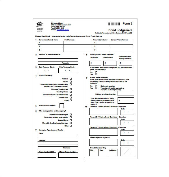 Rental Receipt Template 17 Free Sample Example Format – Rental Receipts for Tenants