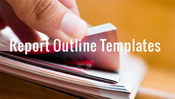 report outline templates