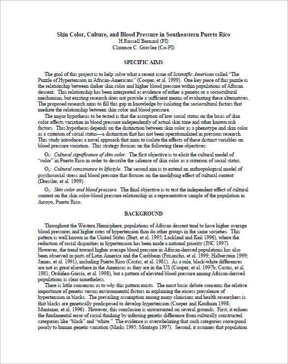 Example Apa Research Proposal Paper Tercentenary Essays